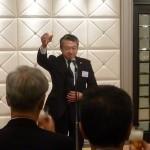 乾杯 日本弁理士会副会長 楠本高義 様