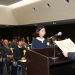 発明協会会長奨励賞 勢田花奈子さん (黒部市立宇奈月小6)