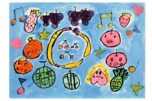 フルーツが歌を歌う世界