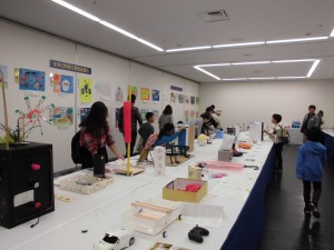 児童生徒の部の展示