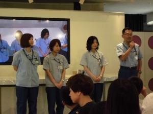 富山村田製作所の皆さまがお手伝いしてくれます